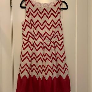 Brand new red & white Pink Owl dress. NWT.